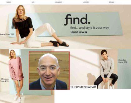 AMAZON entra prepotentemente nel mondo della moda low-cost !